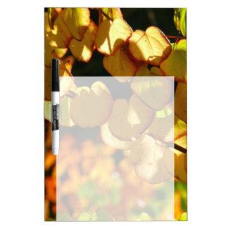 Farben des Herbstes (Herbstblätter) Trockenlöschtafel