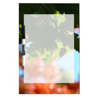 Farben des Herbstes Trockenlöschtafel