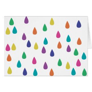 Farben des Regens Karte
