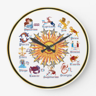 Farben des Tierkreis-6 Uhr
