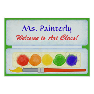 Farben-Palette des Poster