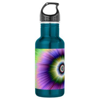 Färben Sie Explosion gebatikt Trinkflasche