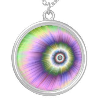 Färben Sie Explosions-gebatikte Halskette