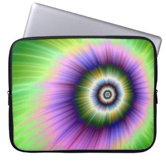 Färben Sie Explosions-gebatikte Laptop-Hülse Laptopschutzhülle