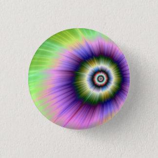 Färben Sie Explosions-gebatikten Knopf Runder Button 2,5 Cm