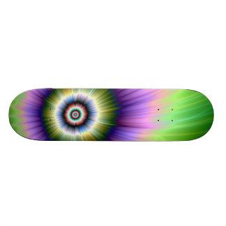Färben Sie Explosions-gebatiktes Skateboard