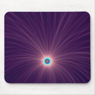 Farbexplosion in lila Mousepad