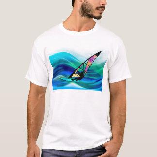 FarbfilmWindsurfer in einem Taifun T-Shirt
