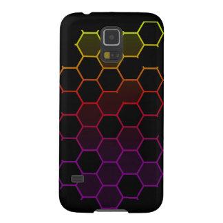 Farbhexe auf Schwarzem Galaxy S5 Cover