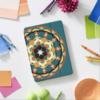 Farbige BlumenMandala 060517_4 iPad Pro Hülle