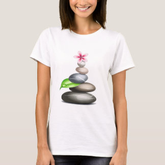 Farbige Kiesel T-Shirt