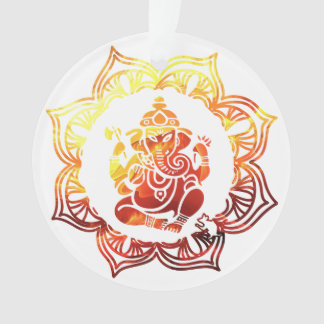 Farbige Meditation Ornament