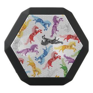 Farbige Muster-springende Pferde Schwarze Bluetooth Lautsprecher