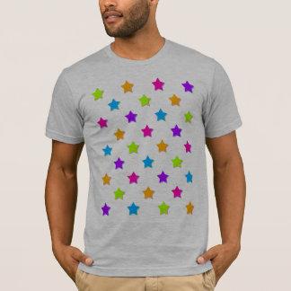 Farbige Sterne T-Shirt