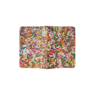 farbige Süßigkeit sprinkes Passhülle
