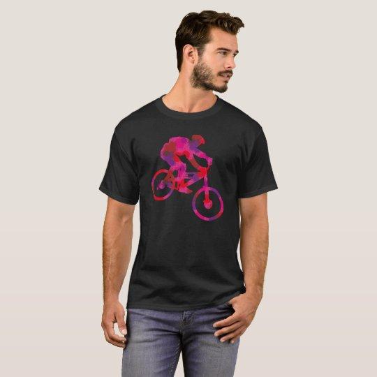 farbiger Biker T-Shirt