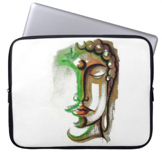 FARBIGER BUDDHA STELLEN Neopren-Laptop-Hülse 15 Laptop Sleeve