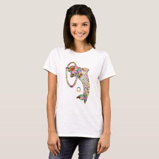 Farbiger Delphin 2 3D T-Shirt