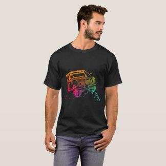 Farbiger Jeep 2 3D T-Shirt