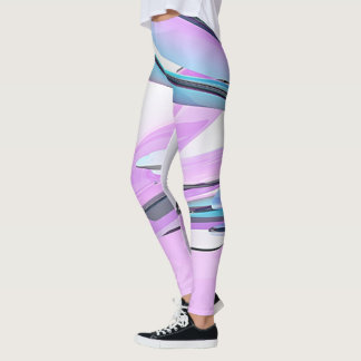 Farbiges Glas Leggings