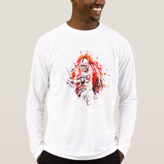 Farbillustration von Winkel des Leistungshebels T-Shirt