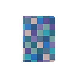 Farbkarte auf Pass-Halter Passhülle