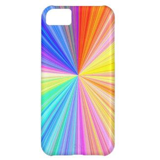 Farbschatten-Rad - Regenbogen-Extrem iPhone 5C Hülle