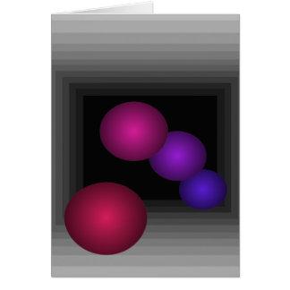 Farbspaß 3 d-Täuschungs-Unendlichkeits-Bereiche Karte