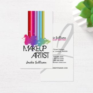 Farbspritzen-Maskenbildner Visitenkarte