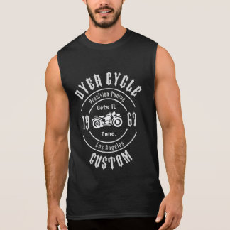 Farbstoff-Zyklus-Präzisions-Abstimmen Ärmelloses Shirt