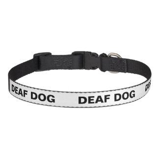 Farbunterlegter HundeTemperaments-Kragen - tauber Hundehalsbänder