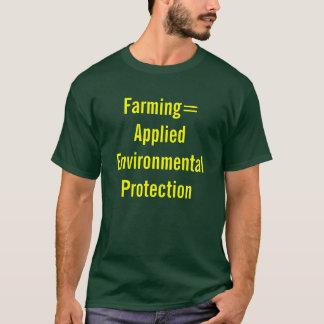 Farming= wendete Umweltschutz an T-Shirt