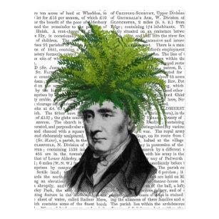 Farn-HauptPflanzen-Kopf Postkarte