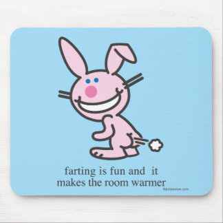 Farting ist Spaß Mousepad