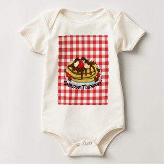 Faschingsdienstag - Pfannkuchen Baby Strampler