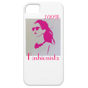 Fashionista Shirt iPhone 5 Schutzhülle