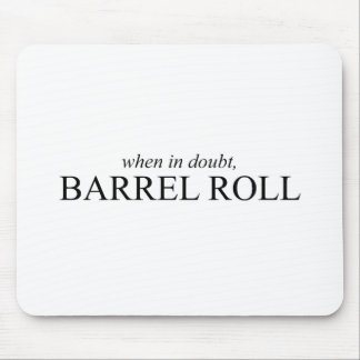 Fass-Rolle 7 Mousepads