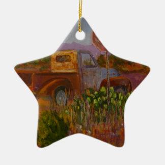 Fast Zuhause Keramik Stern-Ornament