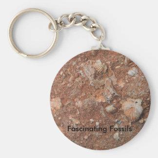 Faszinierende Fossilien Schlüsselanhänger