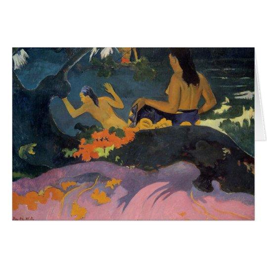 """Fatata Te Karte Miti"" - Paul Gauguin"