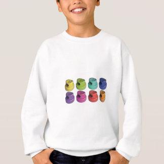 Fatcap Weiß Sweatshirt