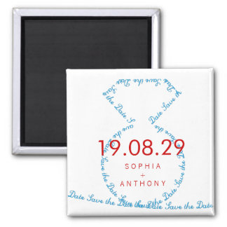 fatfatin tiff-Diamant-Ring-Save the Date Magnet