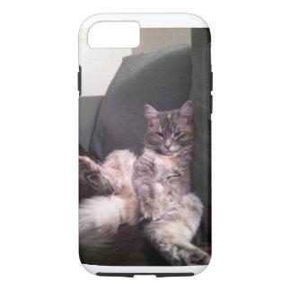 Fauler Katze iPhone Fall iPhone 7 Hülle
