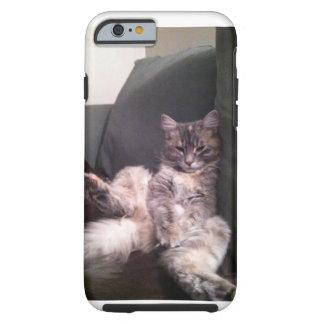 Fauler Katze iPhone Fall Tough iPhone 6 Hülle