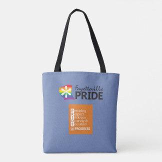 Fayetteville-Stolz-Logo-Tasche Tasche