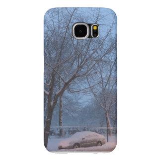 Februar-Schnee in NYC Samsung S6 PhoneCase