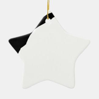 Fechten Keramik Stern-Ornament
