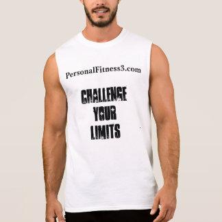 Fechten Sie Ihr Grenze-Sleeveless Shirt an