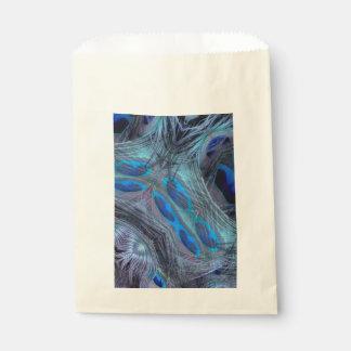 Feder abstrakt geschenktütchen