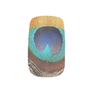 Feder-Nägel Minx Nagelkunst